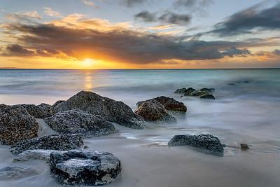 Sunset on Grace Bay