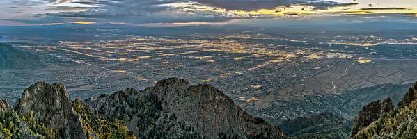 Albuquerque from Sandia Crest