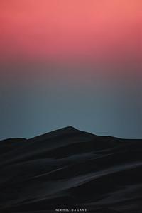 Muave sand dunes