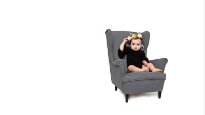 Shay in Gray Chair 16x9