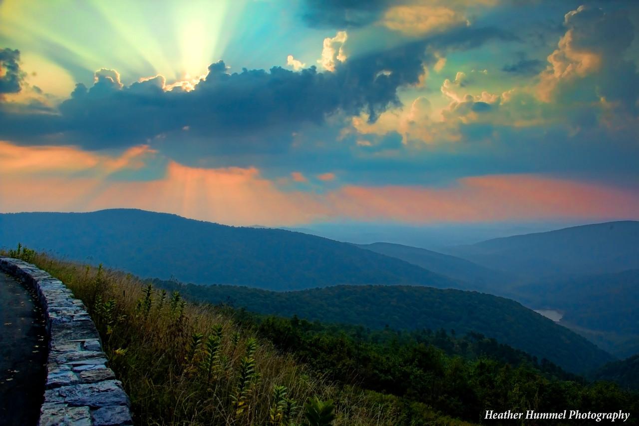 Sunburst, Shenandoah National Park