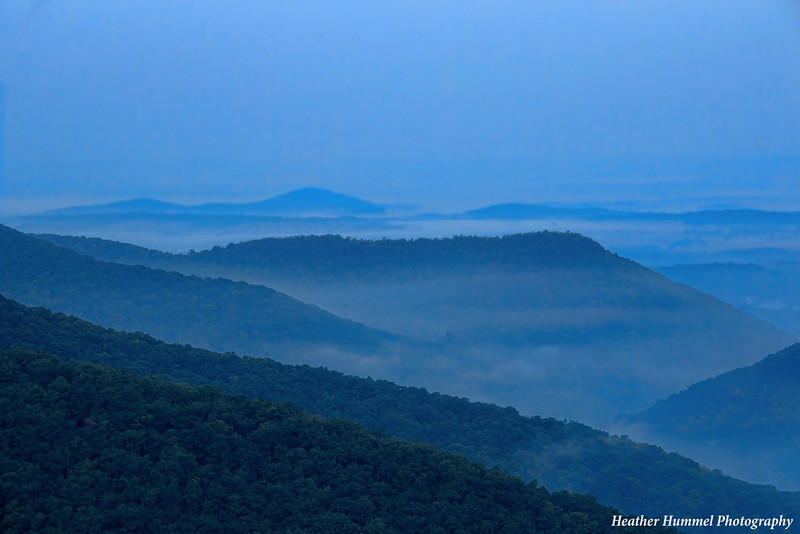 Pre-Dawn Blues, Shenandoah National Park