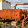 Bressay Lighthouse oil tanks, Island of Bressay