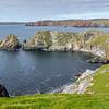 Headland walk at Hillswick, Northmavine.