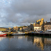 Lerwick Harbour and Lodberry buildings