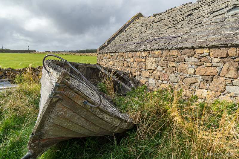 Abandoned boat, Uyeasound, Unst