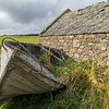 Abandoned boat, Uyeasound, Unst
