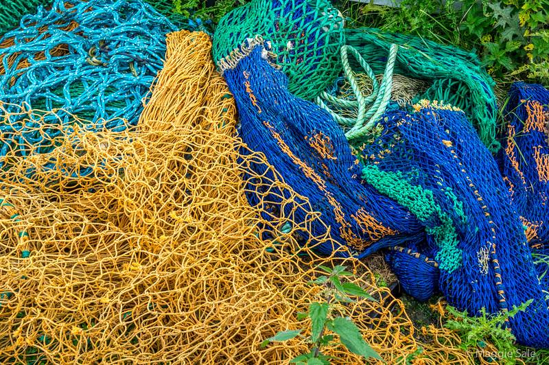 Fishing port, east coast of Northmavine