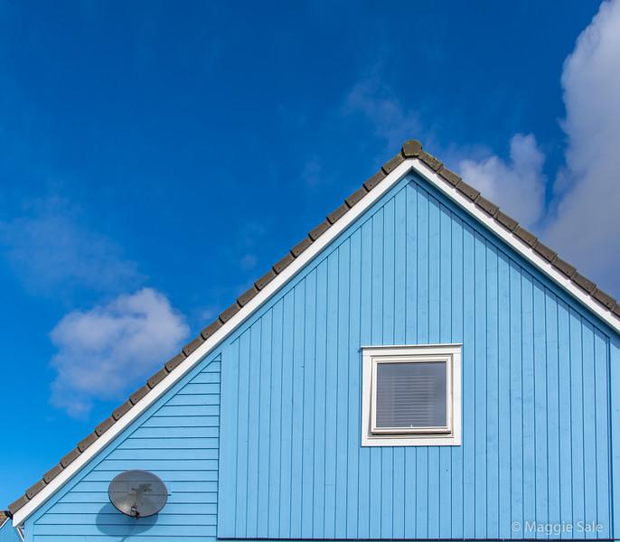 Modern house in Lerwick
