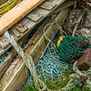 Abandoned fishing gear, Stenness, Northmavine
