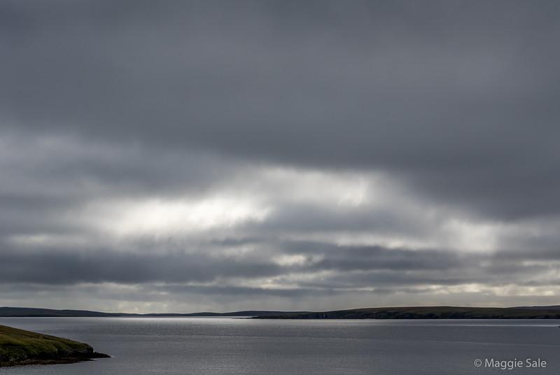 East coast of Northmavine