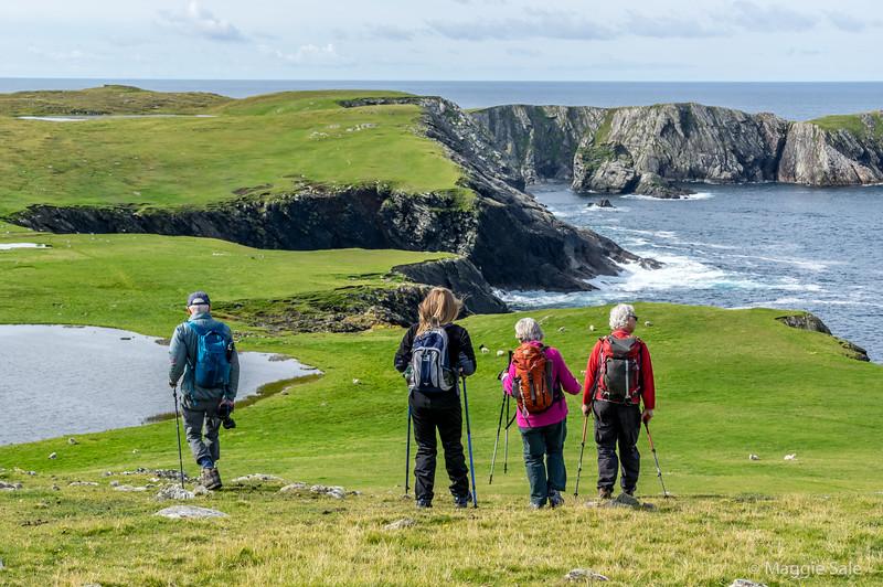 West Burra headland walk