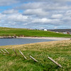 Hillswick beach and village, Northmavine