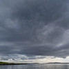 View from Burravoe harbour, Island of Yell