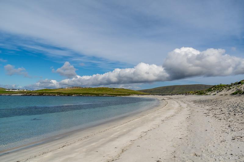 West Burra beach