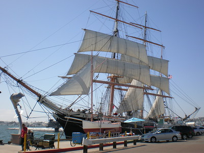 Star of India, San Diego, CA.  ©JLCramerPhotography 2008