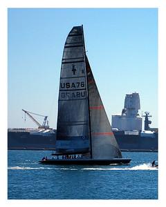 Omega Sailing Tours, San Diego, CA.  ©JLCramerPhotography 2008
