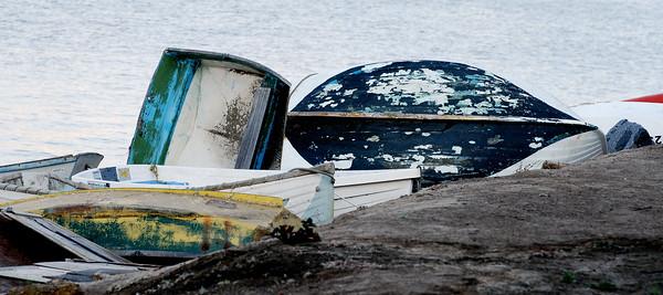 Broken Dingy Boats, Coronado Island, San Diego, CA. ©JLCramerPhotography 2008