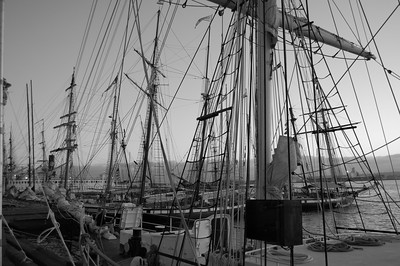 Tall Ships, Port Side, San Diego, CA.  ©JLCramerPhotography 2008