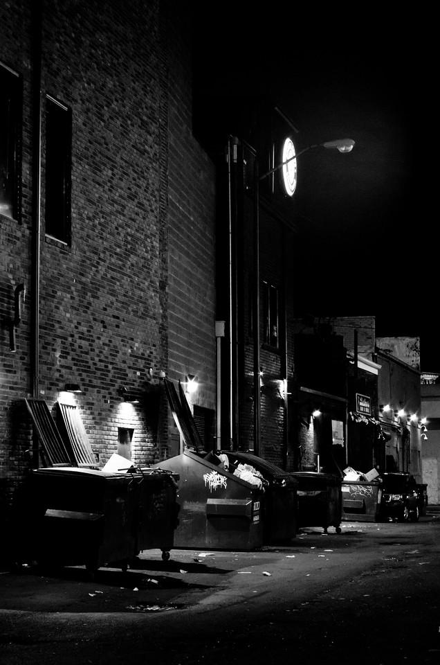 Greektown alley<br /> Detroit, MI