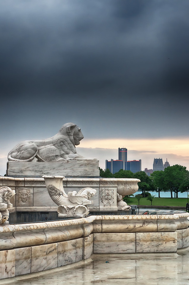 Scott Fountain, Belle Isle
