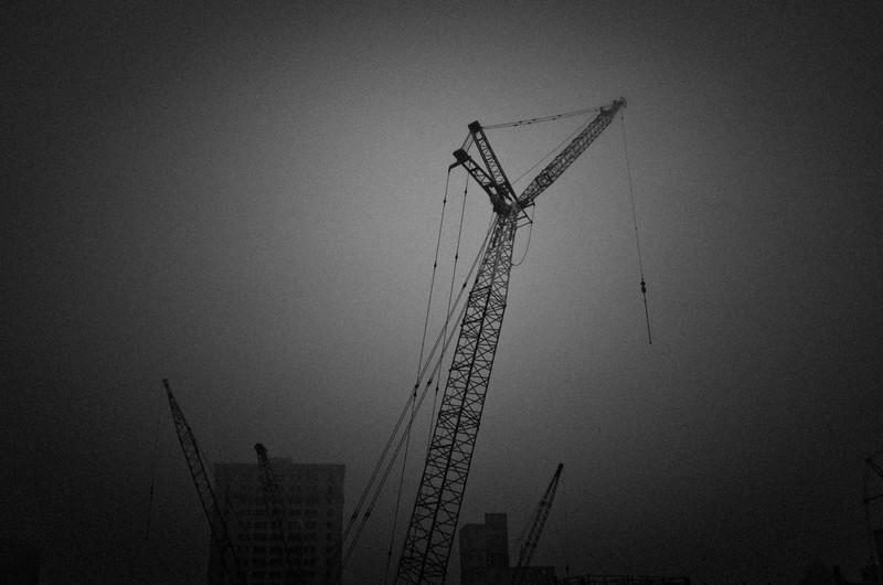 Cranes, Detroit