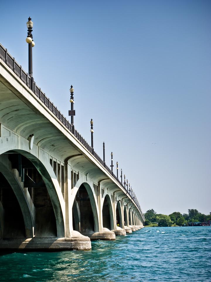 MacArthur Bridge to Belle Isle<br /> Detroit, MI