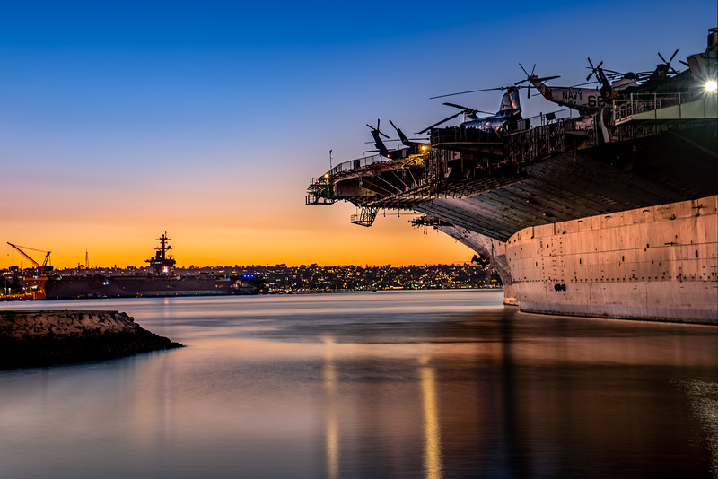 San Diego Harbor Sunset