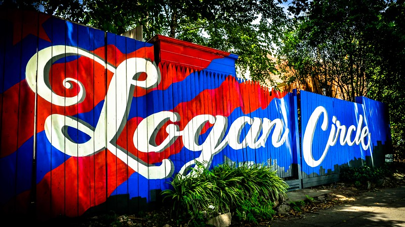 Logan Circle Art