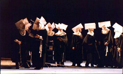 Ory's Men disguised as Nuns