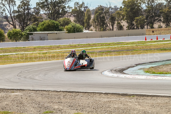 Sidecars - F1 & F2 - VRRC - Winton Raceway