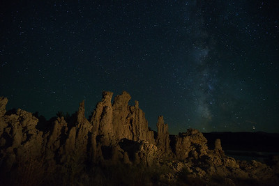 Milky Way Over the Tufas