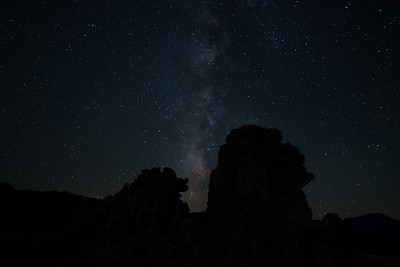 Milky Way Over the Tufas, II