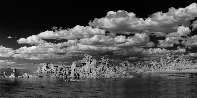 Mono Lake Tufas, Infrared