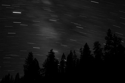 Star Trails, Yosemite