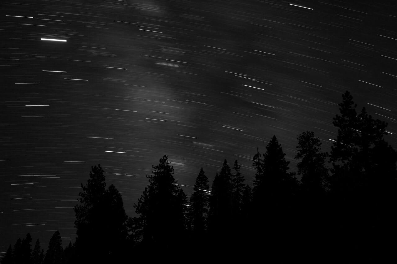 Star Trails, Yosemite