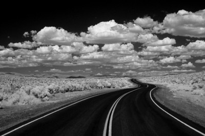 Road to Mono Lake, IR