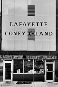 Lafayette Coney Island in Detroit, Michigan