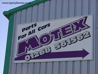 Motex Car Parts 8ft x 4ft