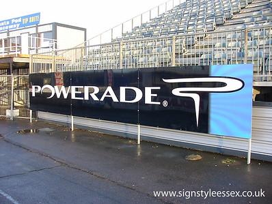 Santa Pod Raceway Track Signage