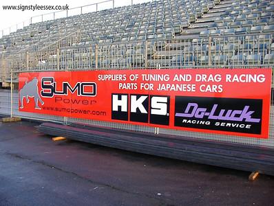 Track Hoarding at Santa Pod Raceway