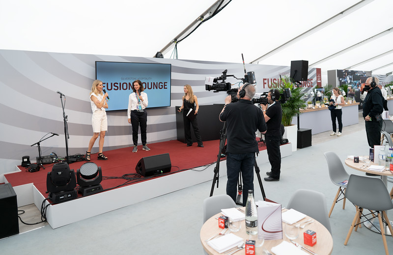 Guest Speakers at the Fusion Lounge, Silverstone (Jul 2021)