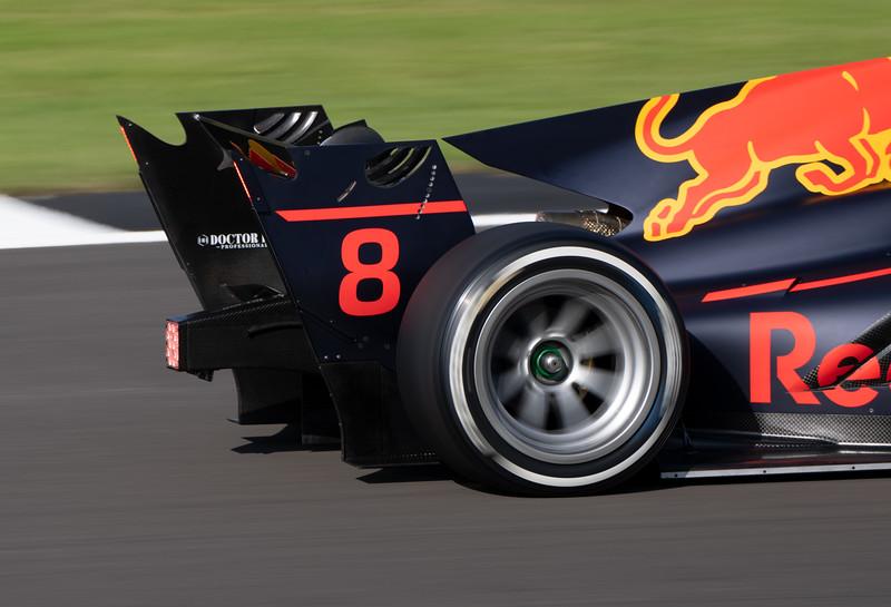 Juri Vips in Hitech F2 Car at Silverstone (Jul 2021)