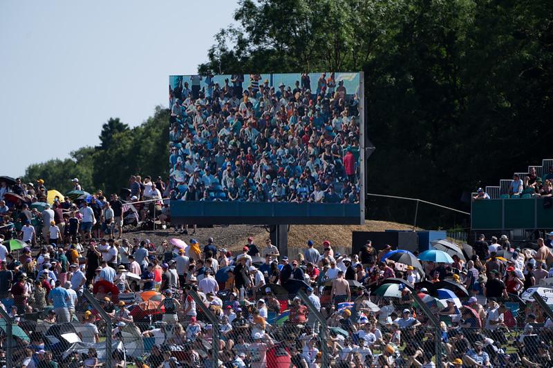 Spectators at Silverstone F1 Weekend (Jul 2021)