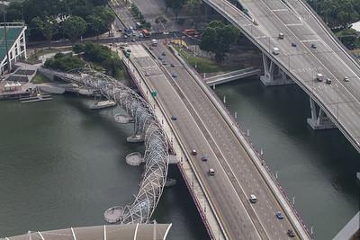 Double Helix Bridge