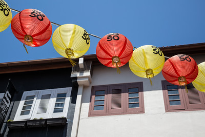 Singapore was celebrating its 50th birthday