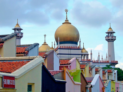 Sultan Mosque, Kampong Glam, Singapore