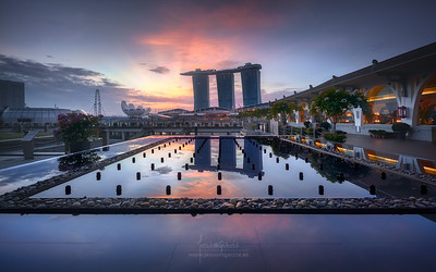 Marina Bay Sands Reflection - Singapore