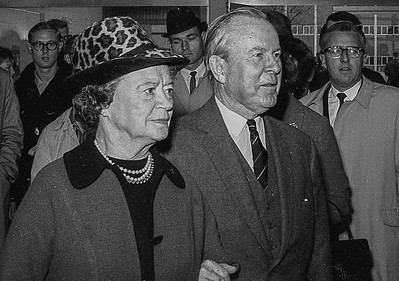 Prime Minister Lester B. Pearson and his wife Maryon.