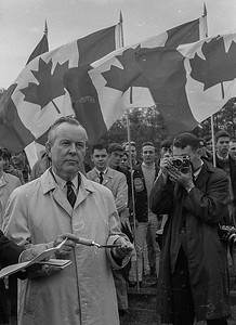 Prime Minister Lester B. Pearson om Vancouver in the mid 1960s